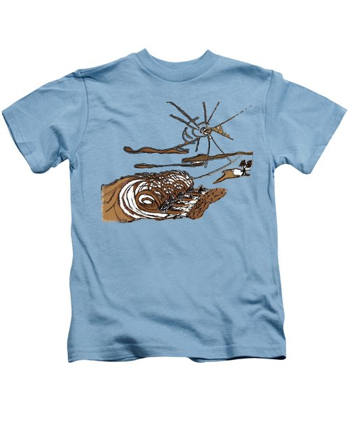 Shore Break Right Kids T-Shirt