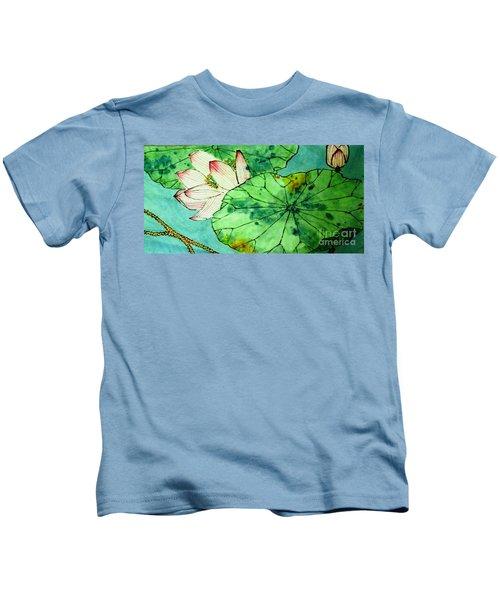 Shy Lotus Kids T-Shirt