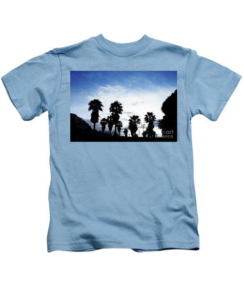 Silhouette In Tropea Kids T-Shirt