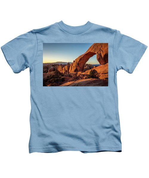 Skyline Arch Kids T-Shirt