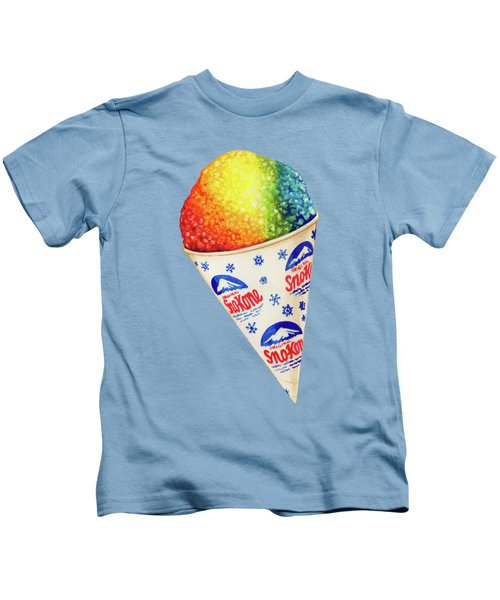 Snow Cone Pattern Kids T-Shirt