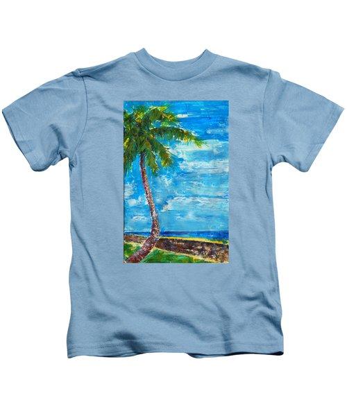 South Beach Wall Kids T-Shirt