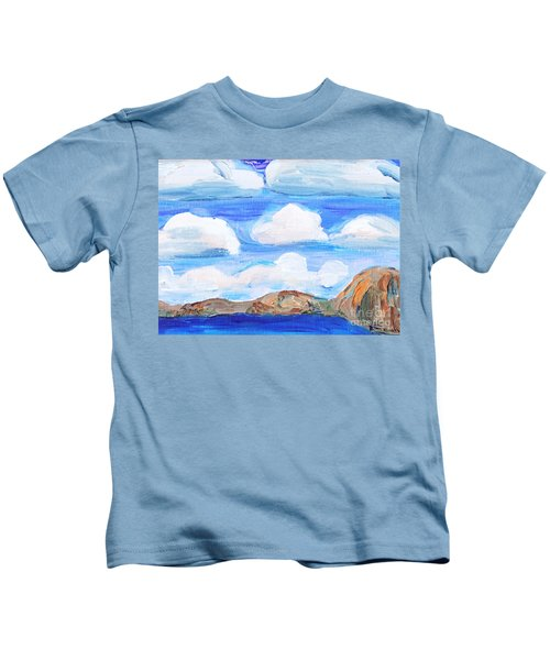 South Morro Bay View To North Kids T-Shirt