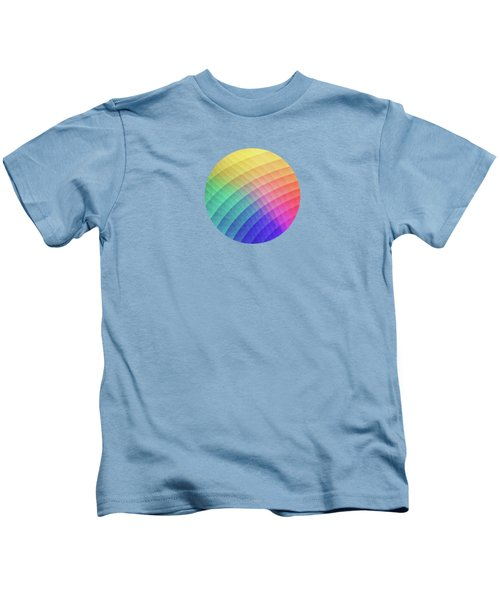 Spectrum Bomb Fruity Fresh Hdr Rainbow Colorful Experimental Pattern Kids T-Shirt