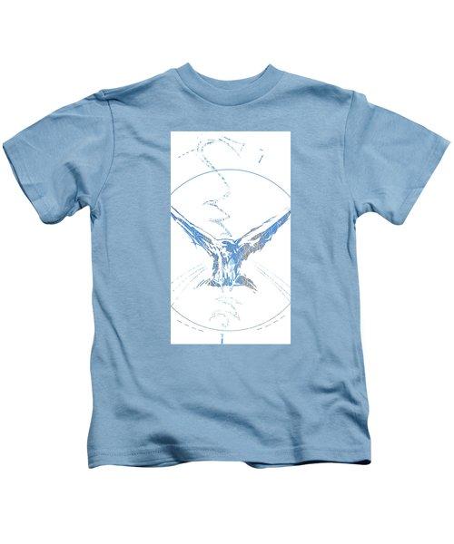 Spirit Animal . Crow Kids T-Shirt