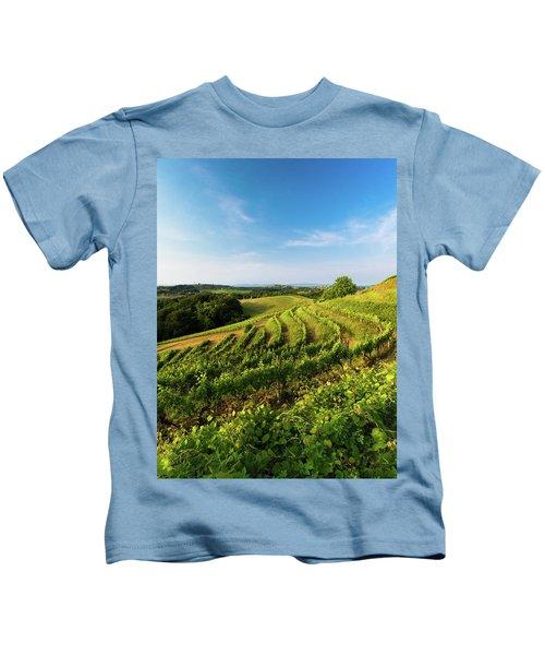 Spring Vinyard Kids T-Shirt