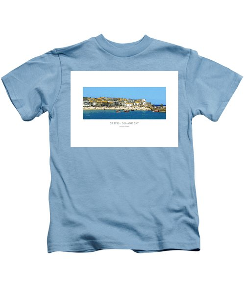 St Ives Sea And Sky Kids T-Shirt