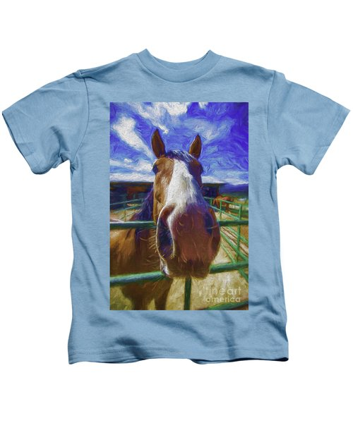 Stable Blues  Kids T-Shirt