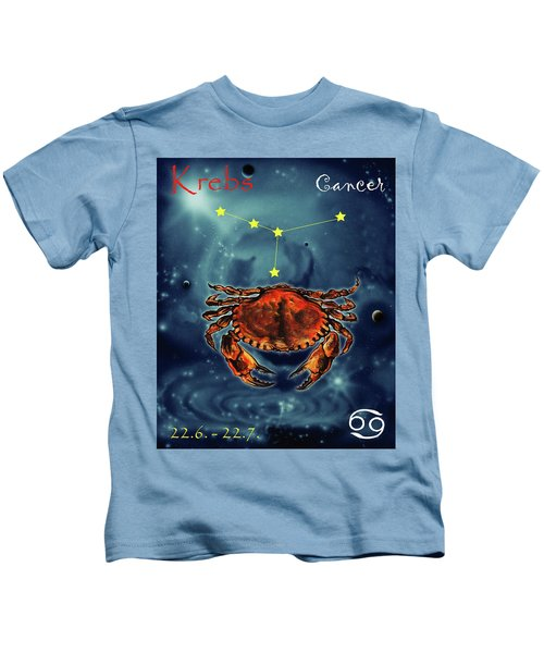 Star Of Cancer Kids T-Shirt