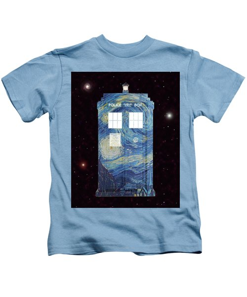 Starry Starry Night Kids T-Shirt