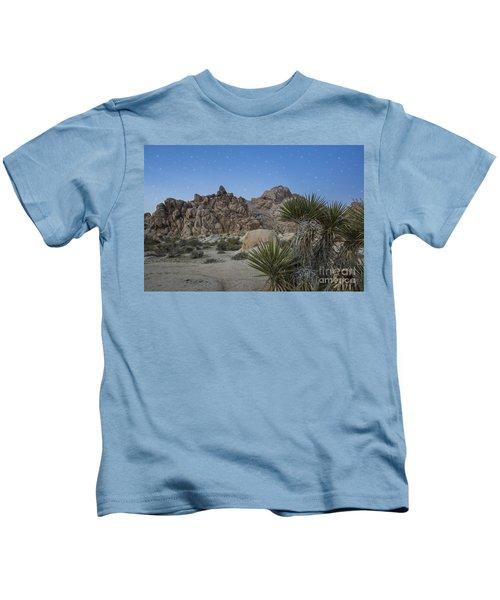 Stars Shining Over Indian Cove Kids T-Shirt