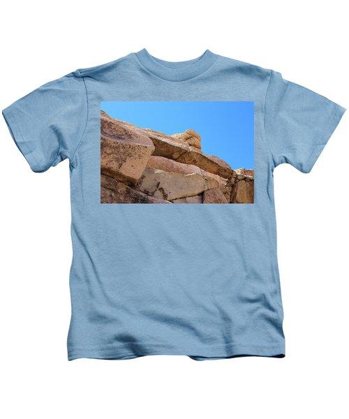 Stone  Arch In Joshua Tree Kids T-Shirt