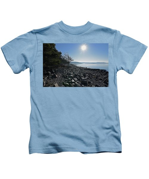 Stone Beach Kids T-Shirt