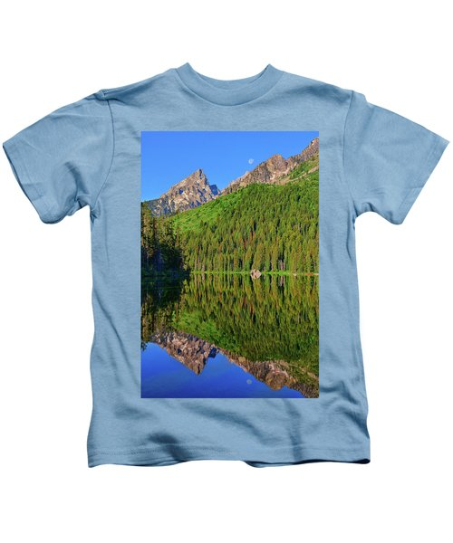 String Lake Morning Mirror Kids T-Shirt