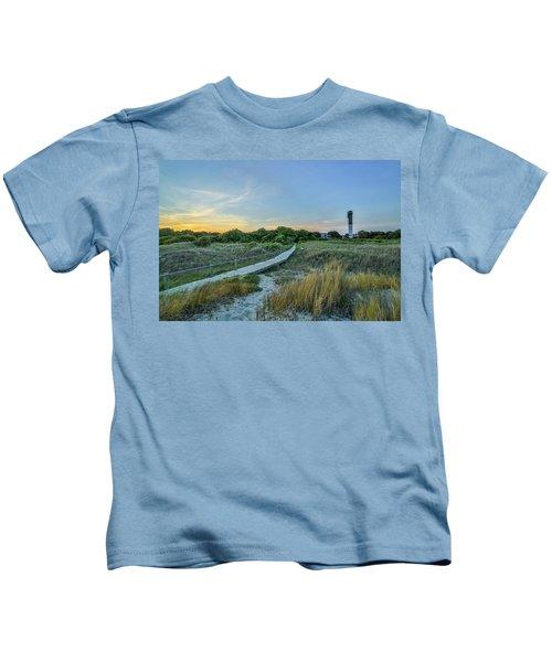 Sullivan's Island Evening Kids T-Shirt