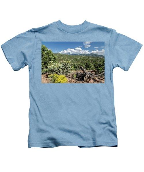 Summer In Santa Fe Kids T-Shirt