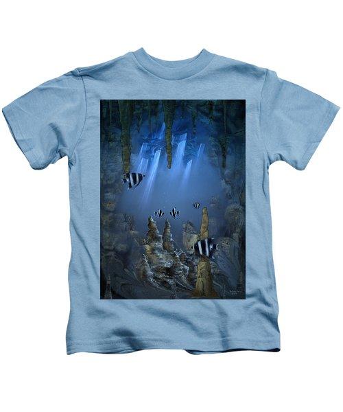 Sunlight From Above Kids T-Shirt