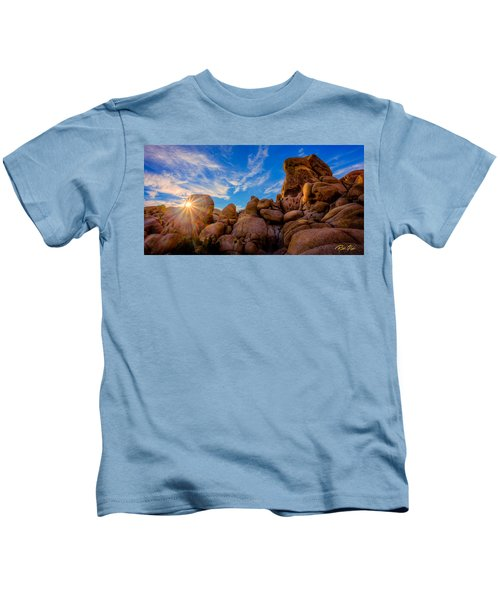 Sunrise At Skull Rock Kids T-Shirt