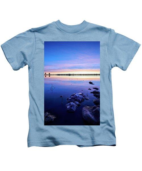 Sunrise In Flagstaff Kids T-Shirt