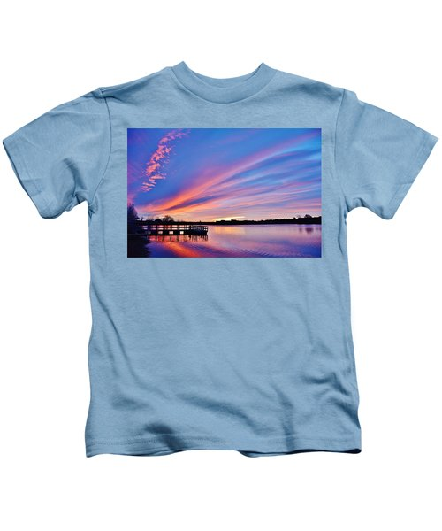 Sunrise Reflecting Kids T-Shirt