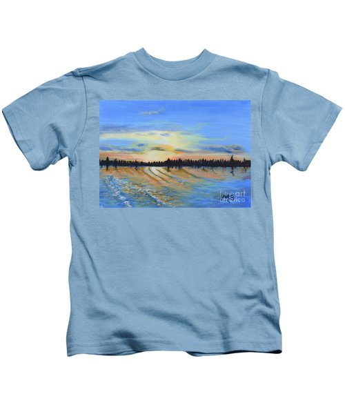 Sunset-ivanhoe1 Kids T-Shirt