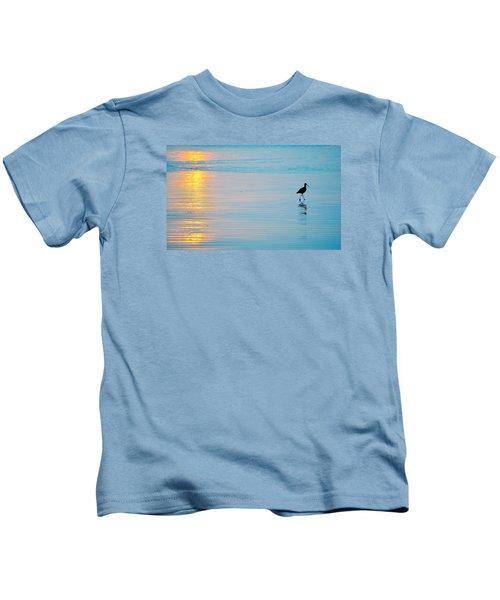 Sunset Stroll Kids T-Shirt