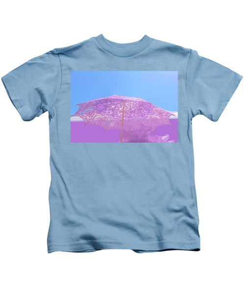 Sunshade In Pastel Color Kids T-Shirt