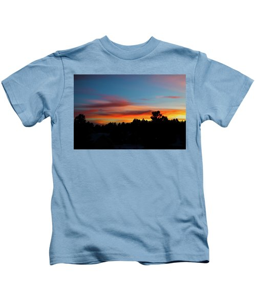 Surreal Sunset Kids T-Shirt