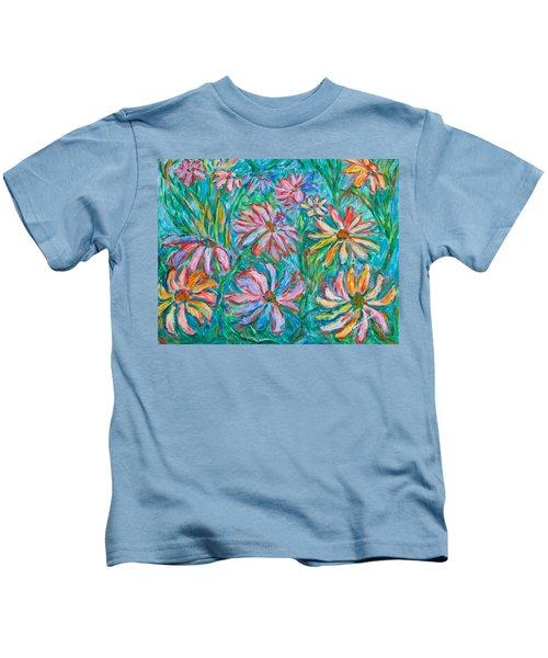 Swirling Color Kids T-Shirt