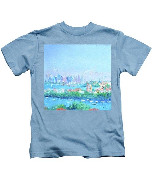 Sydney Harbour Impression Kids T-Shirt