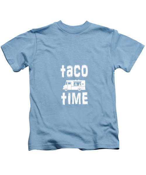 Taco Time Food Truck Tee Kids T-Shirt