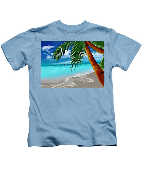 Takemeaway Beach Kids T-Shirt