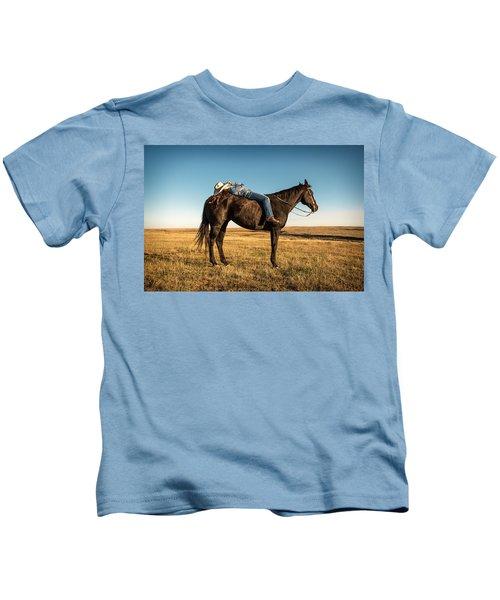 Taking A Snooze Kids T-Shirt