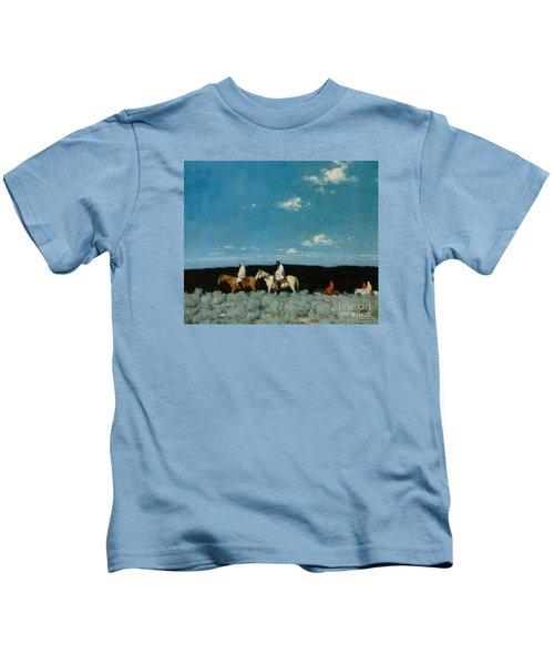 Taos Indians Homeward Bound Kids T-Shirt