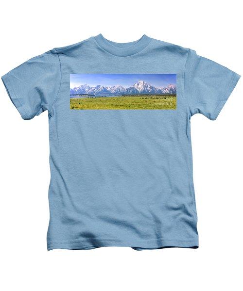 Teton Panorama Kids T-Shirt