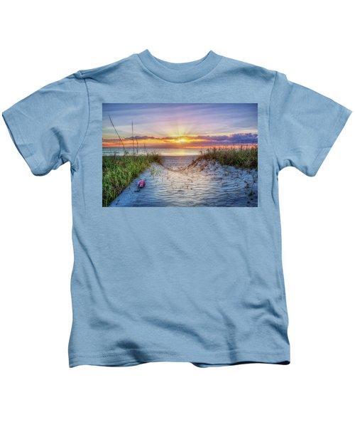 The Beach Is Calling Kids T-Shirt
