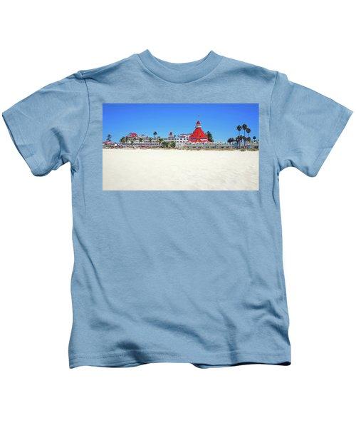 The Del Coronado Hotel San Diego California Kids T-Shirt