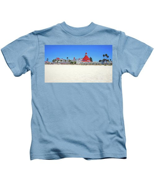 The Del Coronado Hotel San Diego California Kids T-Shirt