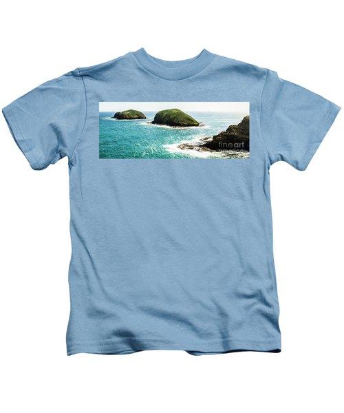 The Doughboys Island Landscape Kids T-Shirt
