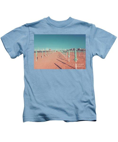 The End Of Summer Season  Kids T-Shirt