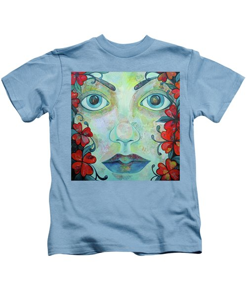 The Face Of Persephone I Kids T-Shirt