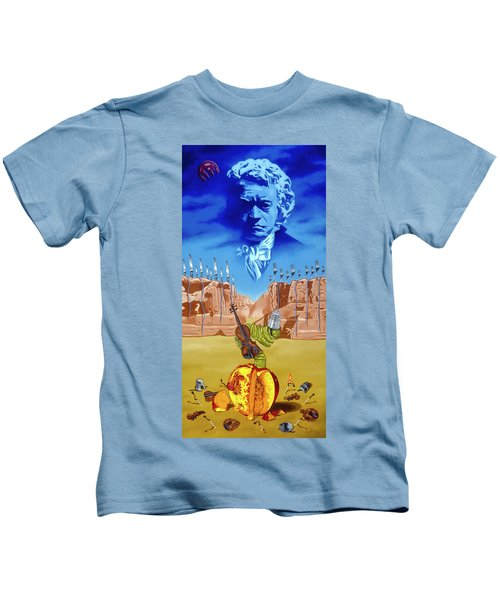 The Last Soldier An Ode To Beethoven Kids T-Shirt