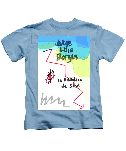 The Library Of Babel  Kids T-Shirt