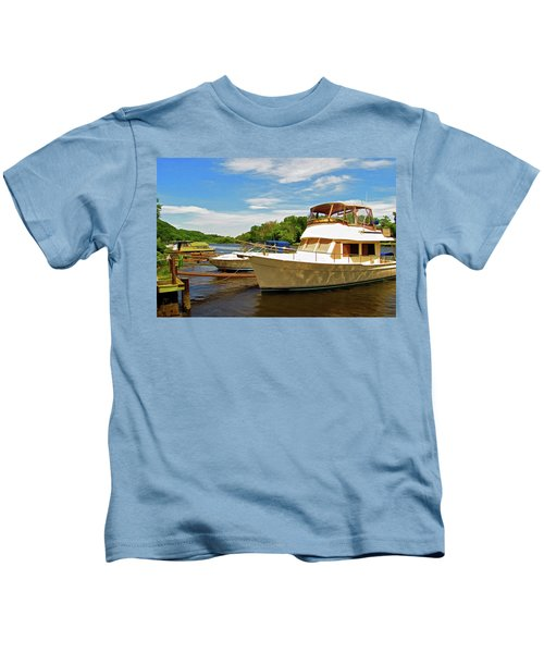 The Rondout At Eddyville Kids T-Shirt