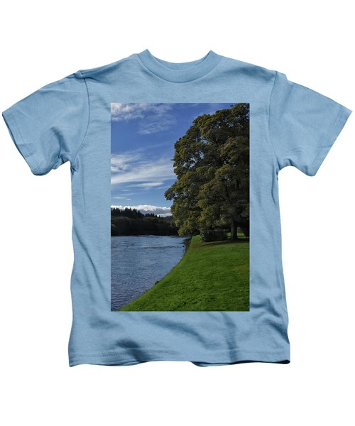 The Silvery Tay By Dunkeld Kids T-Shirt