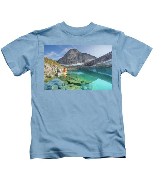 The Turquoise Lake Kids T-Shirt