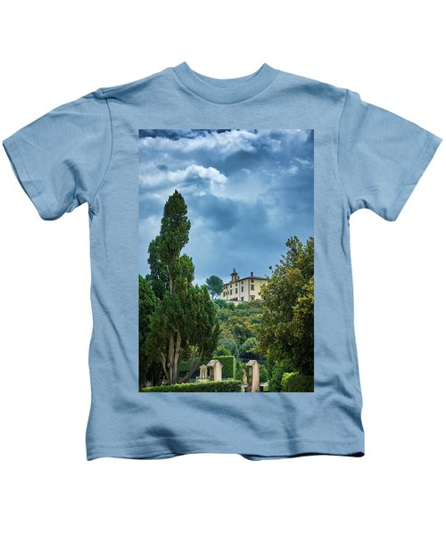 The Views From The Boboli Gardens Kids T-Shirt