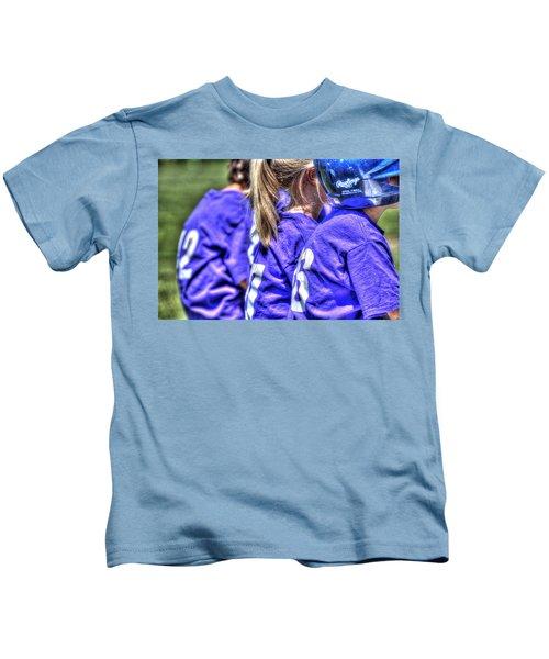 Three On The Bench 1621 Kids T-Shirt