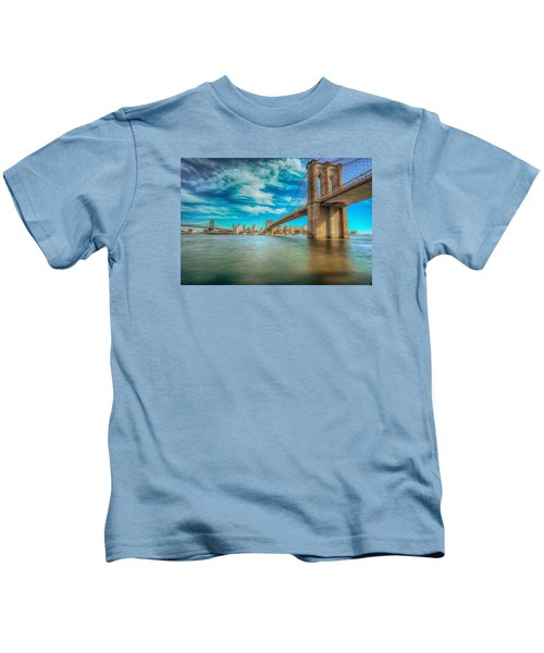 To Brooklyn And Back Kids T-Shirt