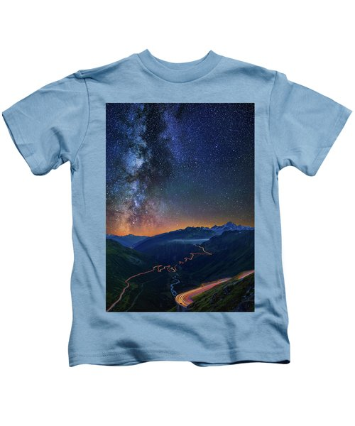 Transience And Eternity Kids T-Shirt